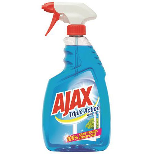 ajax glas spray tripple action 12x 750 ml ajax wk 004. Black Bedroom Furniture Sets. Home Design Ideas
