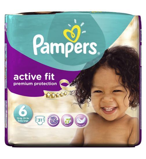 Pampers, active, fit 4 / 4 / 5 / 5 / 6 » Jetzt online